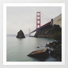 Golden Gate Bridge Art Print by Kevin Russ - $16.00