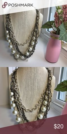 I just added this listing on Poshmark: Pearl Statement Necklace. #shopmycloset #poshmark #fashion #shopping #style #forsale #Jewelry