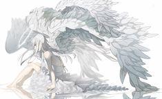 Image in Anime girls collection by ◈Kyouko◈ on We Heart It Anime Angel Girl, Anime Art Girl, Manga Girl, Anime Guys, Anime Fallen Angel, Angel Manga, Fanarts Anime, Anime Characters, Ange Demon