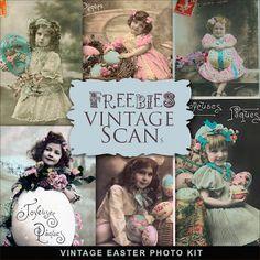 Freebies Vintage Kit