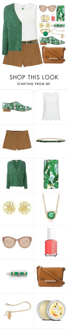 """""""Palm Beach Outfit"""" by ohsosartorial on Polyvore featuring Repetto, Hobbs, Emilio Pucci, Nice Things by Paloma S, P.A.R.O.S.H., Theo Fennell, Ross-Simons, Linda Farrow, Essie and L. Erickson"""