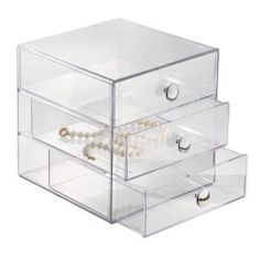 Amazon.com - InterDesign Drawers, Clear - Closet Storage And Organization Systems for my craft supples
