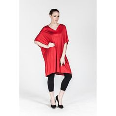 Plus size Red Tunic