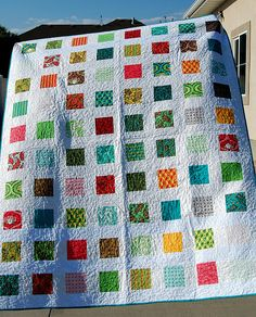 A Sunday Charmer Lap or Baby Quilt Pattern....Quick and Easy Charm ... : charm square quilt pattern - Adamdwight.com