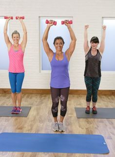 The Workout That Helped Jessica Alba Shake Off Her Baby Weight **HAVE TO MODIFY, but should be able to do most**