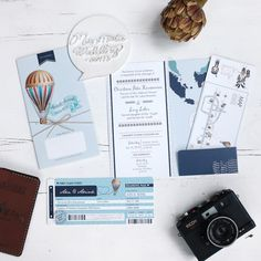 Wedding invitation with travelling theme   Vendor Of The Week: Mainmata Wedding   http://www.bridestory.com/blog/vendor-of-the-week-mainmata-wedding