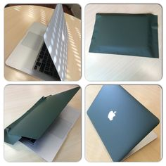 MacBook cover wrap with #3M 1080 series Matt Military Green! #luxerywrapping #vinyl #wrapping