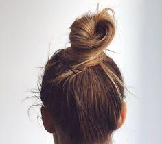 Twisted bun.