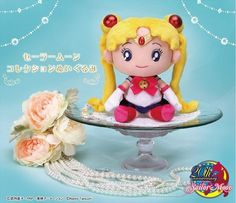 Sailor Moon Crystal Cute Plush Plushie Japan No Wand Locket Compact Brooch Case