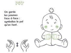signe avec bébé POT