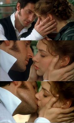 North and South..pretty much the most romantic kiss and ending that I have ever seen.