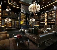 Man cave/ basement: wine & cigar room (smaller scale) Win $5,000 Daily Jackpot - have you got what it takes?