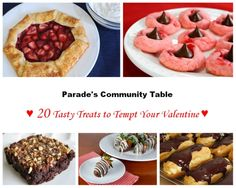 Parade's Community Table ~ 20 Tasty Treats To Tempt Your Valentine