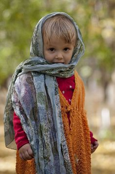 Ethnic Russian girl, Astana, Kazakhstan