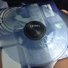 the 1975 self-titled (UK 1st press - frosted clear???)