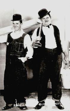 Laurel & Hardy..