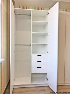Wall Wardrobe Design, Wardrobe Room, Bedroom Closet Design, Bedroom Furniture Design, Gold Bedroom Decor, Room Ideas Bedroom, Small Room Bedroom, Built In Cupboards Bedroom, Bedroom Cupboard Designs