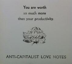 Anti-Capitalist Love Notes