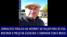 Jornalista viraliza na internet ao viajar para os EUA, mostrar o preço d...