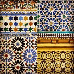 Tiles I spotted in beautiful Andalucia #sevilla #seville #cordoba #andalucia #alandalus #spanish #spain #architecture #tiles #ceramic #walls #floor #azulejos #color #colour #pattern #patterns #moorish #geometric #spanisharchitecture #lizziemontgomerydesign