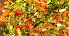 Brokkoli -Trauben - Salat