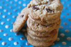 Brown Butter Chocolate Chip Cookies with Pecans, by Joy the Baker   Swim, Eat, Repeat