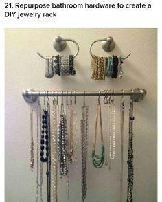 Organising Jewellery