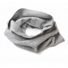 Gray Label - Endless Scarf, grey melange