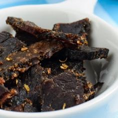 recipe for Biltong: 2 kg beef fillet Braai Recipes, Jerky Recipes, Wine Recipes, Real Food Recipes, Cooking Recipes, Yummy Food, Cooking Bacon, South African Dishes, South African Recipes