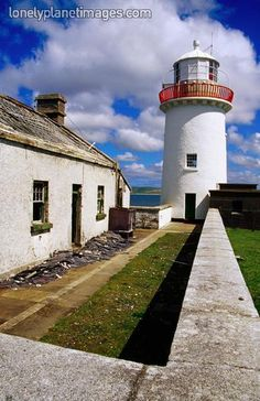 Broadhaven lighthouse - 54.268°N 9.889°W