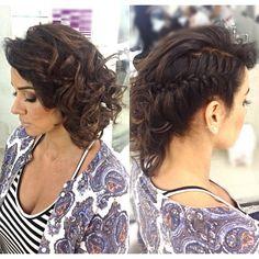 Penteado lateral com trança by @mallonyfarias (✂️ Mallony Farias ✂️)   Iconosquare