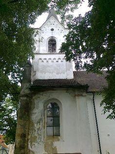 Evangelický kostel - Nebužely - Česko