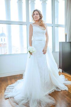 MONICA SORS X AIRE BARCELONA BRIDAL Inspiración vestido de novia. Fashion blogger