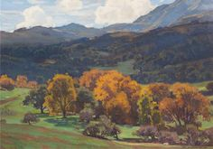 William Wendt, (American, 1865-1946), California Landscape, 1926 | American and European Art auction | September 29, 2016 in Chicago