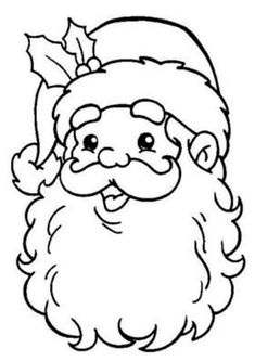 Merry Christmas Coloring Pages, Santa Coloring Pages, Christmas Coloring Sheets, Fall Coloring Pages, Animal Coloring Pages, Coloring Books, Christmas Colors, Christmas Art, Christmas Pictures