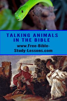 Bible Study Lessons, Free Bible Study, Animals In The Bible, Talking Animals, Bible Commentary, S Word, Faith, Christian, Teaching