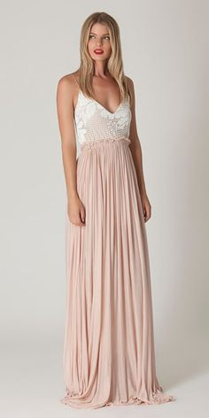 Liberty Garden maxi dress