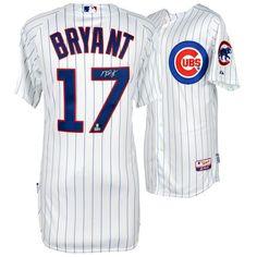 Kris Bryant Chicago Cubs Fanatics Authentic Autographed White Authentic Jersey - $699.99
