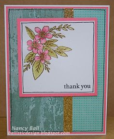Nancy's CRAFTY blog: Adore You Stamp of the Month