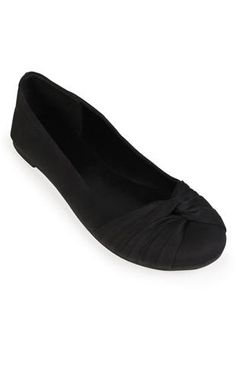 ballet flat with knot, also available in fuchsia and turquoise $19.50