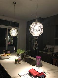 Moroccan Hanging Lanterns, Moroccan Chandelier, Modern Moroccan, Simple Shapes, Modern Lighting, Track Lighting, Matte Gold, Henna Designs, Kitchen Lighting