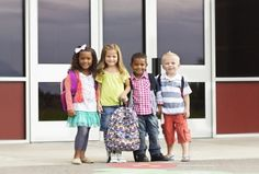 What does 'school readiness' mean and how can early years settings help children and families to ensure they are ready for the transition of starting school? Kids Going To School, Starting School, First Day Jitters, First Day Of School, Reading Horizons, 2nd Grade Classroom, Family Images, Kindergarten Teachers, Kindergarten Readiness