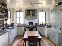8 Talented Cool Tricks: Country Kitchen Remodel Back Splashes country kitchen remodel back splashes.White Kitchen Remodel Back Splashes. Kitchen Stove, Kitchen Pantry, New Kitchen, Kitchen Shelves, Kitchen Ideas, Vintage Kitchen, Eat In Kitchen Table, Pantry Cupboard, Ranch Kitchen