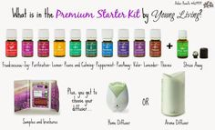How to use the essential oils in the Premium Starter Kit from Young Living #YLEO #essentialoils