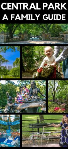 A guide to the best in Central Park with kids on a family vacation to New York City