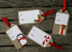 Paper Perfect Designs: Easy Christmas Gift Tags!