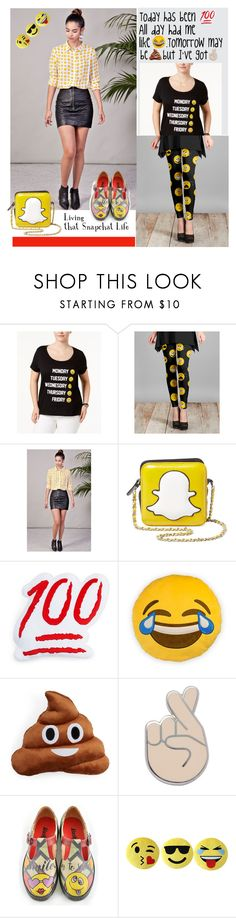 """Emoji Fashion"" by sojazzed ❤ liked on Polyvore featuring Freeze 24-7, Lily, KLOZME, MUA MUA, Throwboy, PINTRILL, Victoria Classics, Jane Basch, maryjanes and emojifashion"