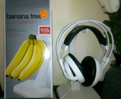Banana Tree for a headphone stand. Why not!?