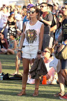 Camilla Belle #Coachella #Festival