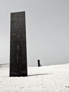 """Richard Serra, """"East-West/West-East"""", Qatar"""